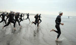 Triathlon racing