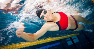 triathlon swimming training