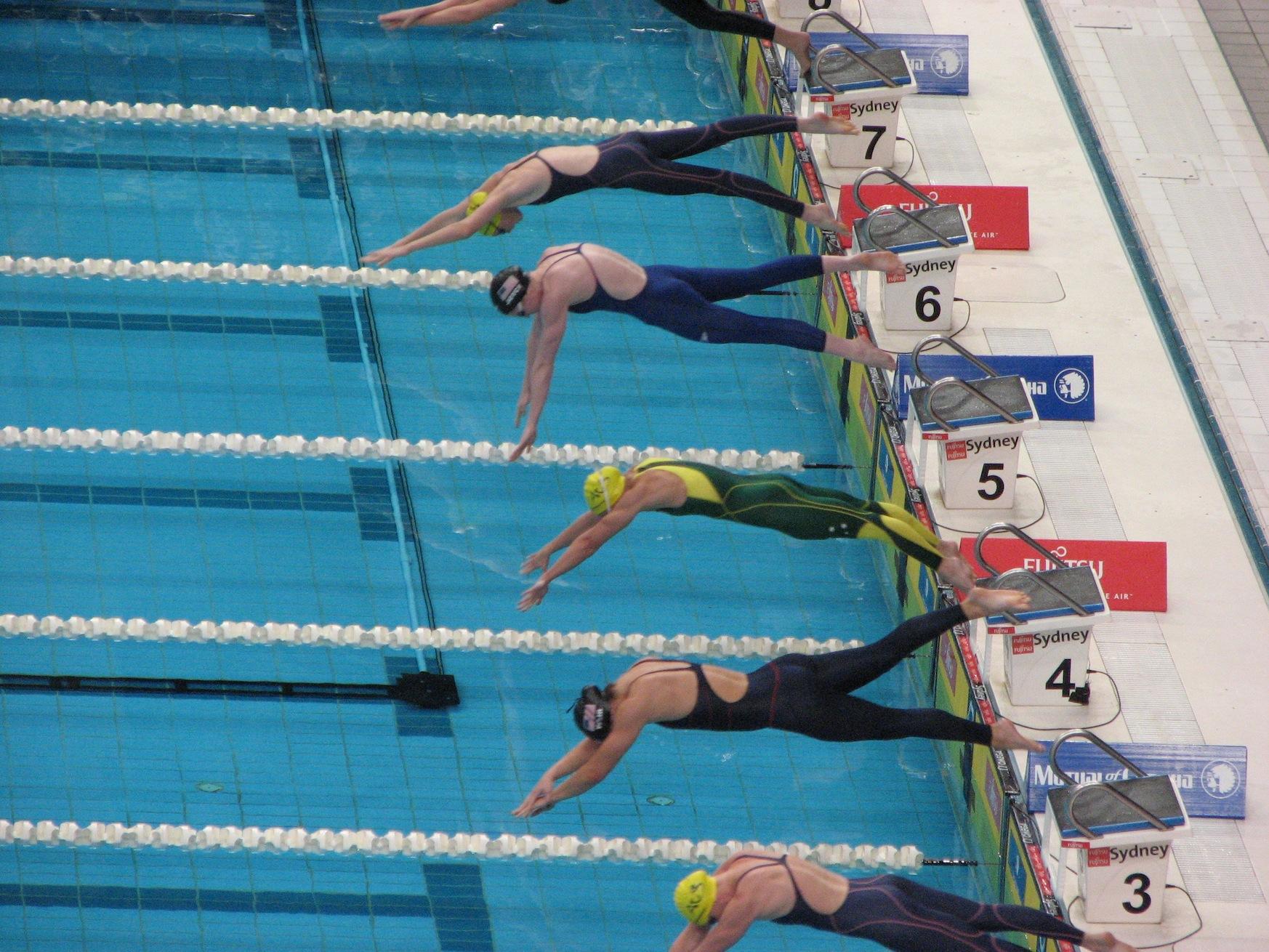 Different Types Of Normal Triathlon Swim Training